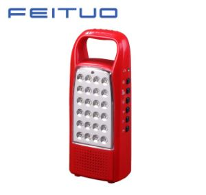 LED Portable Lamp, Rechargeable Lantern, Hand Light, FM Radio Light 620-R pictures & photos