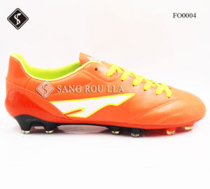 Soccer Shoe with TPU pictures & photos