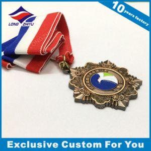 Taekwondo Medal Alloy Custom Logo Ribbon Medal pictures & photos