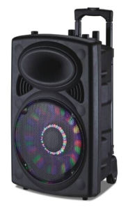 PRO DJ Audio 12-Inch Battery Powered Speaker with 2 Wireless Microphones 6814D pictures & photos
