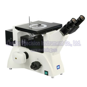 Upright Metallurgical Microscope with 40X 60X 100X Bright & Dark Field Objective (LM-308) pictures & photos