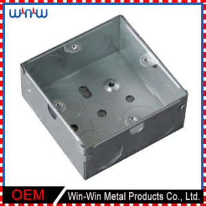 Customized Support Brackets Cheap Instrument Metal Enclosure Welding Punching Stamping Parts pictures & photos