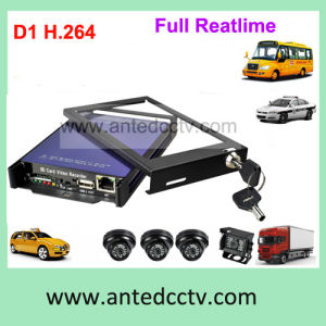 4 Channel Taxi CCTV Security Monitoring System with GPS Tracking pictures & photos
