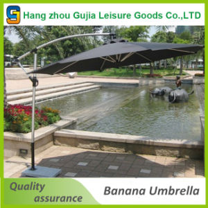 3m Patio Garden Banana Parasol Haning Umbrella Design
