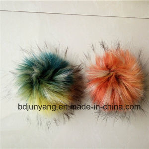 Customized Raccoon Fur Pompom Fake Fur pictures & photos