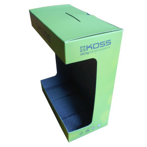 Branded Paper Display Box for Electronic Product (HeadPhone) pictures & photos