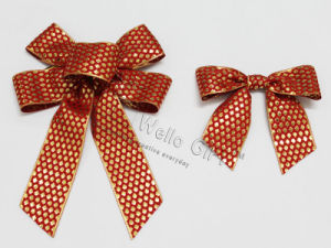 Custom Christmas Bowknot Decoration Wholesale pictures & photos