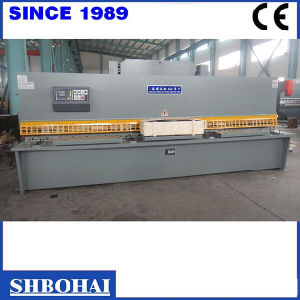 QC12k 6X4000 Hydraulic Swing Beam Shearing Machine pictures & photos