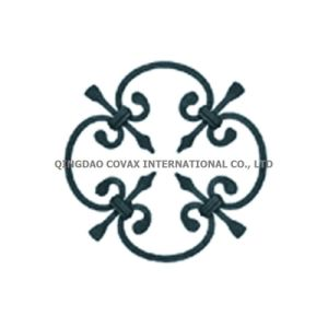 Decorative Steel Gate Panel 11035 Wrought Iron Rosette pictures & photos