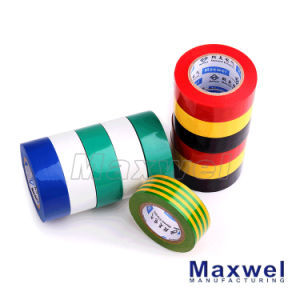 Flame Retardant Shiny PVC Film Electrical Tape pictures & photos