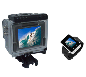 16MP 2.7k Waterproof WiFi Sports DV with Remote Control