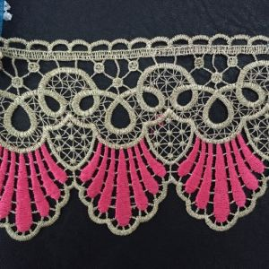 Gold Thread Lace Trim for Lady Dress pictures & photos