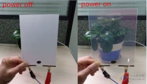 Smart Tinted Pdlc Film Transparent to Opaque Sample with High Transparency pictures & photos