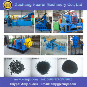 Widely Used Tire Shredder Machine for Sale/Waste Tyre Recycling Machine pictures & photos