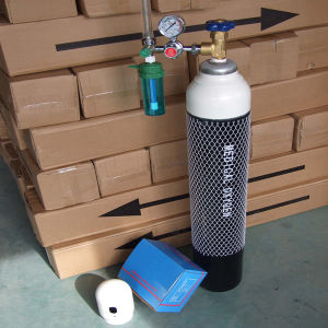 Medical Small Portable Oxygen Cylinder for Hospital Oxygen pictures & photos