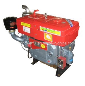 Diesel Engine with Motor Start 28HP Water Cooled pictures & photos
