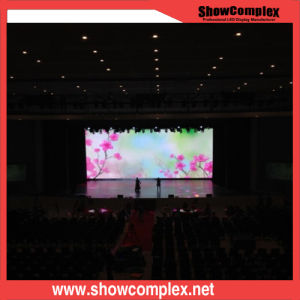 P6.25 High-Precision Indoor Full Color LED Display Board for Model Show pictures & photos