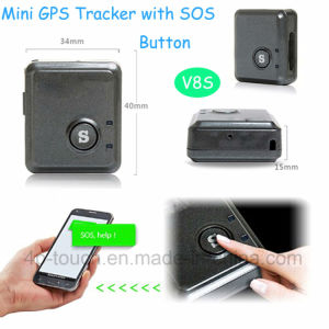 Newest Small GPS Tracker with GPS+Lbs+Agps (V8S) pictures & photos
