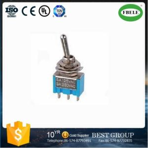 Mini Type 3 Pin Toggle Switch Electrical Switch pictures & photos