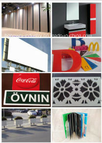 Good Qualtiy PVC Expanded Sheet for Advertising pictures & photos