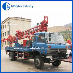 Small Portable Truck Mounted Mini Water Well Drilling Rig for Sale pictures & photos