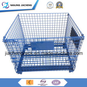 Collapsible Galvanized Wire Mesh Bins for Sales pictures & photos