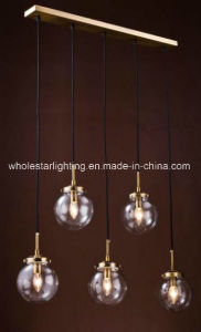 Metal Chandelier with Glass Shade (WHG-651) pictures & photos