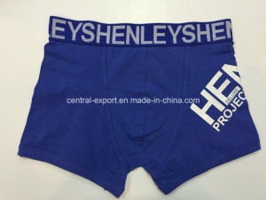 Logo Printed New Style Fashion Men′s Boxer Short Underwear pictures & photos