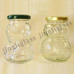 Honey Glass Jar / Honey Jar /Cute Honey Glass Jar pictures & photos