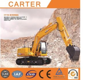 Hot Sales CT150-8c (15t&0.55m3 bucket) Heavy Duty Crawler Diesel-Powered Excavator pictures & photos