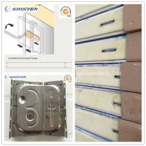 150mm Camlock Polyurethane Sandwich Panel with Color Steel Plate pictures & photos