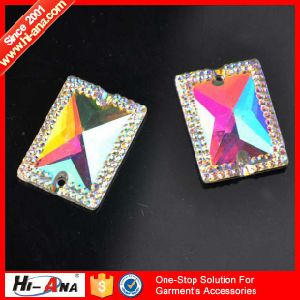 SGS Certification Various Colors Rhinestone Shoe Applique pictures & photos