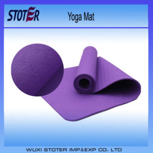 2014 Customer Designed Jute Yoga Mat pictures & photos
