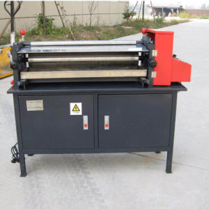 Js Paper Glue Machine Sheet Gluing Machine with Cold Glue pictures & photos