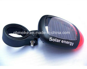 2LED Solar Emergency Tail Warning Bike Bicycle Light (MK-6935)