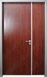 Wooden Fireproof Manufacturer in China, Wooden Outside Doors, Wooden Veneer Door India pictures & photos