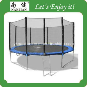 14ft Trampoline Bed with Enclosure, Safety Net and Ladder pictures & photos