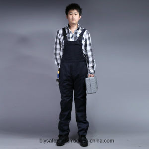 Mens Heavy Twill Builders Work Dungarees Overall Trousers Bib and Brace