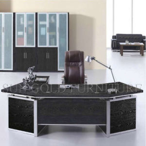 Modern Melamine Faced Chipboard Office Desk CEO Office Table (SZ-ODL324) pictures & photos