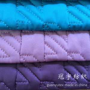 Home Decoration Polyester Quilted Fabric for Sofa pictures & photos