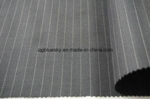 Streak Wool Fabric for Suit