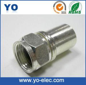 Long Barrel Crimp Type F Connector (YO 2-010B)