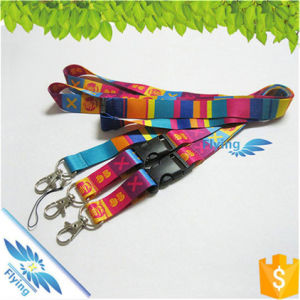 Promotion Custom Polyester Lanyards with Cheap Sublimation Logo