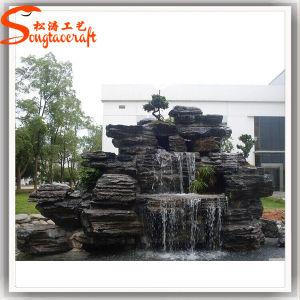 Garden Decoration Fiberglass Artificial Waterfall Rocks pictures & photos