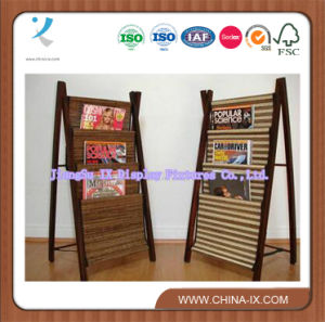 Wooden Magazine Display Stand/Display Fixtures (df123) pictures & photos