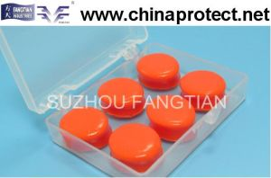 Non-Toxic Waterproof and Soundproof Soft Silicone Gel Earplugs pictures & photos