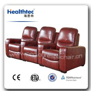 3D Vibrating Massage Chair Theater (B015) pictures & photos