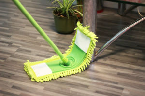 Telescopic Handle Chenille Flat Mop, TPR Mop, Flexible Triangle Mop, Corner Mop (1044) pictures & photos