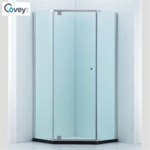 Diamond Shap Shower Cabin/Shower Enclosure with 304#Stainless Steel Hardware (A-CVP050)