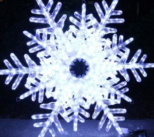Winter Motif Light LED Snowflake Lights for Mall Decoration pictures & photos